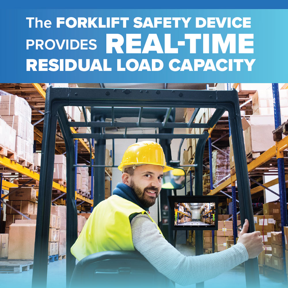 OE Attachments Launches the Forklift Safety Device Featuring real-time residual load capacity